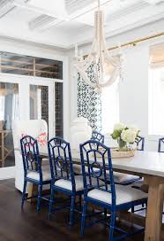 best dining rooms table settings air coastal blue and white parsons chairs room chair covers kitchen