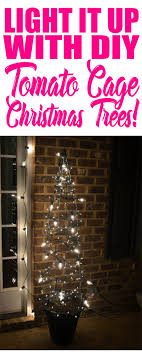 Tomato Cage Christmas Trees Fast Cheap And Easy