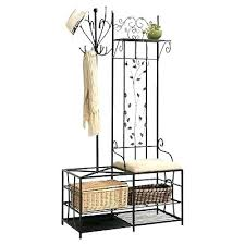 Metal Hall Tree Coat Rack