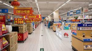 walmart store inside. Simple Store SHENZHEN CHINA  JAN 22 Walmart Shopping Center Interior In ShenZhen On  January 22 In Store Inside B