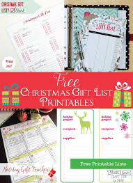Gift Tracker Must Have Craft Tips Gift Tracker Organization