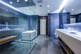 modern master bathrooms. 5 Tags Modern Master Bathroom With MS International Ostrich Grey Quartzite Tile, Wilsonart - Frosty White Mirage Bathrooms F