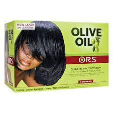 no lye normal hair relaxer kit