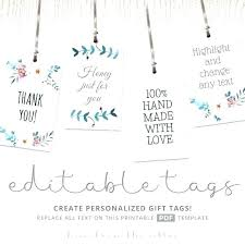 Free Printable Favor Tags Free Printable Baby Shower Favor Tags Template Gift