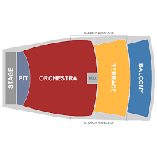 First Interstate Center For The Arts Seating Chart The Inb Performing Arts Center Spokane Tickets Schedule