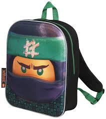 Lego Ninjago Movie Lloyd 3D Backpack , Cabin Laguage School Sholder Bag  Back Pack with Water Bottle Mesh Pocket- Perfect Gift for Lego Fans ! by  LEGO - Shop Online for Toys in Australia