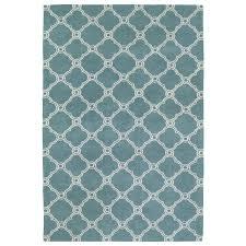kaleen cozy toes turquoise indoor area rug common 8 x 10 actual
