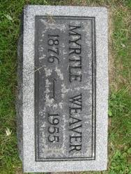 Myrtle Marshall Weaver (1876-1955) - Find A Grave Memorial