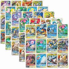 60 Cái/bộ Tag Team EX Mega GX Sáng Pokemon Thẻ Trận Trò Chơi Hoạt Hình Trẻ  Em Bộ Sưu Tập Đồ Chơi|Bộ bài Sưu Tầm Trò Chơi