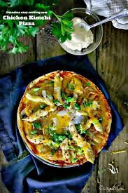 .pot korean kimchi chicken recipe is the cure for dinnertime boredom.tender chicken breast in a korean kimchi chicken recipe. Chicken And Kimchi Pizza Sandra S Easy Cooking