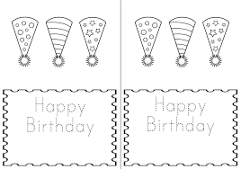 Black And White Birthday Cards Printable Free Printable Birthday Cards For Kids Free Download And