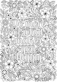 Floral Coloring Pages Jokingartcom