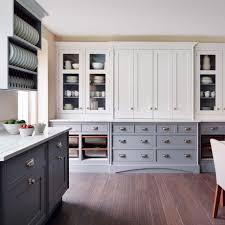 dark hardwood floors kitchen. Interesting Kitchen Smallbone Painted Kitchen With Dark Wood FlooringWondrous Ways  Flooringkitchen In Dark Hardwood Floors Kitchen O
