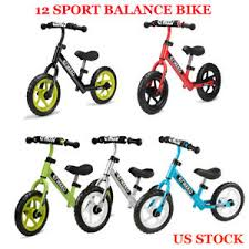 Enkeeo 12 Sport Balance Bike No Pedal Learn To Ride Pre Bike For 2