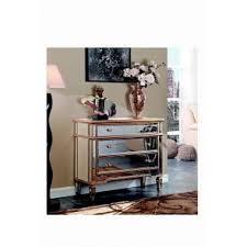 elegant furniture and lighting. 3 Drawer Cabinet 42 In. X 16 36 In Gold Elegant Furniture And Lighting O