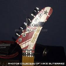 eddie van halen guitar contest winner mike gutierrez pictures from the day mike picked up his guitar