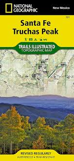 Santa Fe Truchas Peak National Geographic Trails