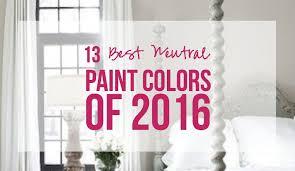 popular neutral paint colors13 Best Neutral Paint Colors of 2016  Happily Ever After Etc