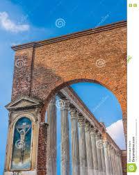 Colonne Di San Lorenzo Mailand Lombardei Nord Italien Stockfoto