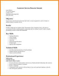 100 Customer Service Resume Skills Resume Title For