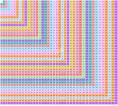 39 X 39 Multiplication Table Multiplication Chart Upto 39