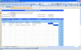 excel checkbook formula checkbook register excel templates