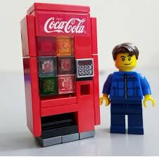 Lego Vending Machine Kit Simple LEGO CocaCola Vending Machine Created By JANGbricks Vintage