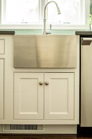 Farmhouse Sink Cabinet Base Kitchen Remodel With Custom White Cabinetry Ackley Cabinet Llc