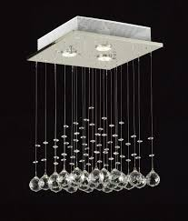 living room ceiling lights india with saint mossi chandelier modern k9 crystal raindrop