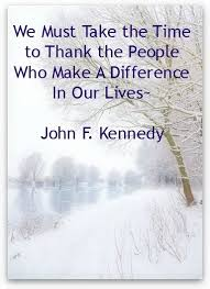Making A Difference Quotes Beauteous We Must Take The Time To Thank The People Who Make A Difference In