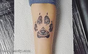 Tetování Vlk Na Rameno