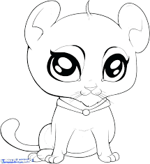 Free Printable Cute Animal Coloring Pages Baby Animal Coloring Page