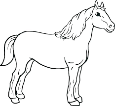 coloring pages horse coloring sheets head pages of horses free for toddlers