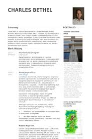 Architectural Designer Resume Samples Visualcv Resume Samples Database
