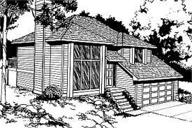 119 1001 3 bedroom 940 sq ft contemporary house plan 119 1001 front