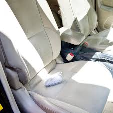 mix together the cleaning solution to use on your seats dish soap is so gentle lifting grease stains while refreshing the fabric and washing soda is also