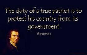 Common Sense Thomas Paine Quotes Extraordinary Quote Of The Day True Patriotism Common Sense Evaluation