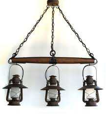 rustic log home lighting fixtures rustic lantern light