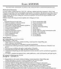 Ndt Inspector Resume Qc Welding Inspector Resume Sample Inspector Resumes