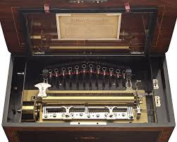 Restoration of cylinder and disc music box mechanisms. Antique Music Boxes For Sale M S Rau