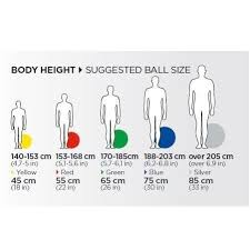 Exercise Ball Size Chart The Best Exercise Ball For 2019 Reviews By Wirecutter