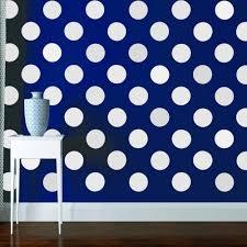 big polka dot wall decals large polka