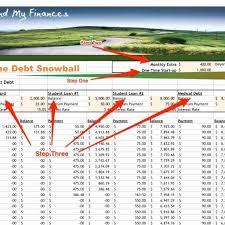 Free Debt Snowball Spreadsheet Unique Credit Card Payoff Reduction