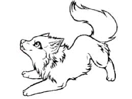 Small Picture Baby Wolf Coloring Pages FunyColoring