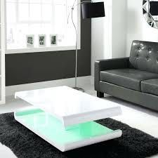 free range coffee table blue dot