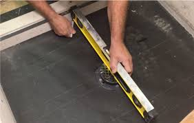 repeat this step to the remaining sides or corners of the pan these marks represent the top layer of concrete