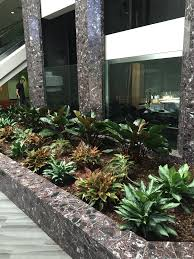 interior landscaping office. Flowers And Plants In Lobby Of Building Interior Landscaping Office F
