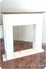 good faux fireplace mantels for how to build fake fireplace build fake fireplace mantel 31 faux fireplace mantel shelf
