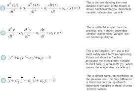 difference between diffeial equation and algebraic equation