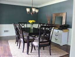 Dining Room Before And After Erin Spain - Gray dining room paint colors
